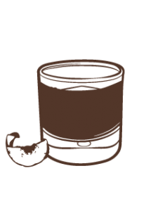 Limey Bastard cocktail illustration