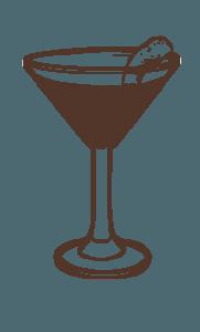Port of Envy cocktail illustration