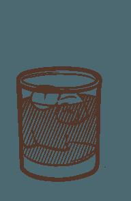 Basil Envy cocktail illustration