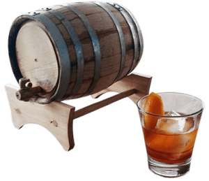 Angel's Boulevardier cocktail