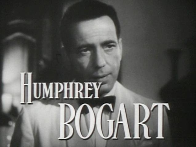 Bogart in Casablanca