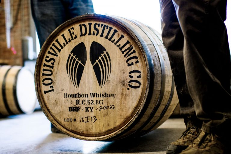 Louisville Distilling Co barrel