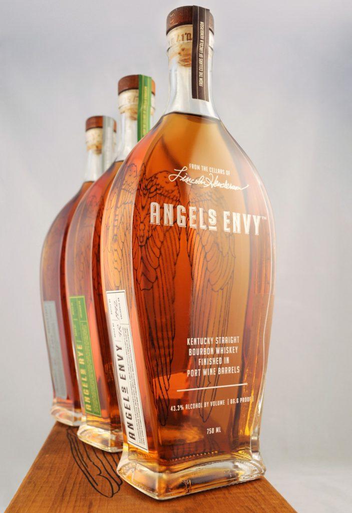 3 Angel's Envy bottles