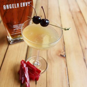 Red licorice cocktail