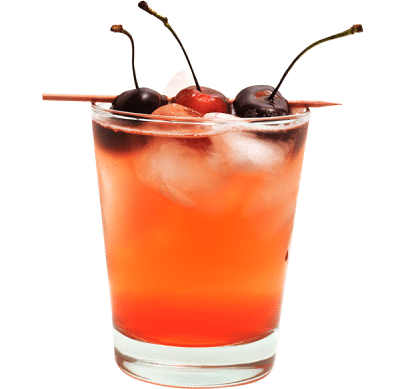 Cherry Phosphate cocktail
