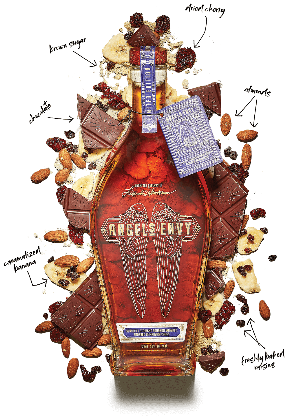 ANGEL'S ENVY KENTUCKY STRAIGHT BOURBON WHISKEY FINISHED IN MADEIRA CASKS